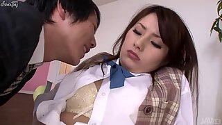 Sweet Japanese schoolgirl get abused by teacher