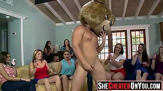 21 Hot bitches taking loads at cfnm party! 29
