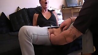 Extreme amateur wife fisted by her hubbys huge hands