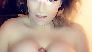 Amelia Skye titfuck Snapchat compilation