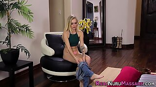 Massaging cutie nailed