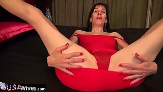 USAwives Compilation with Hot Solo Matures