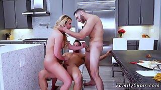 Hairy milf big tits anal Army Boy Meets Busty Stepmom