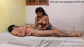 Indian school duo Indoor hook-up Video