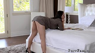 Stepmom Soothes My Erection