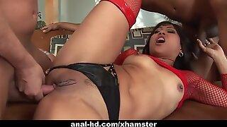 Splendid Asian gal Max Mikita enjoys having rough sex