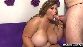 Big boobed fat girl Hailey Jane nude and fucking