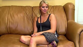 18 YEAR OLD TAKES DICK ON CASTING COUCH