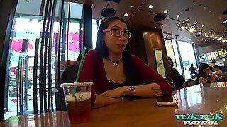TUKTUKPATROL Thai Pussy Fucked by Lucky Foreigner in Bangkok