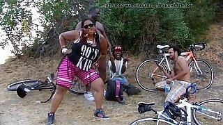 after bike ride