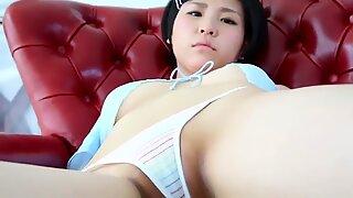Young girl in bikini