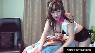 crazy Housewife Shana Fay Gets A sloppy request & Does it!
